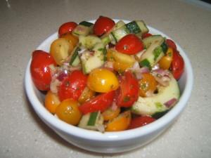 Cucumber & Tomato Salad1