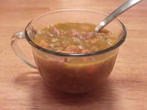 Lentil Sausage Soup 1