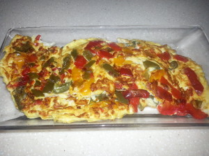 Peppers & Eggs