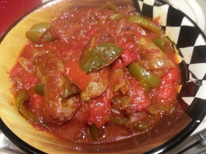 Sausage & Peppers 1