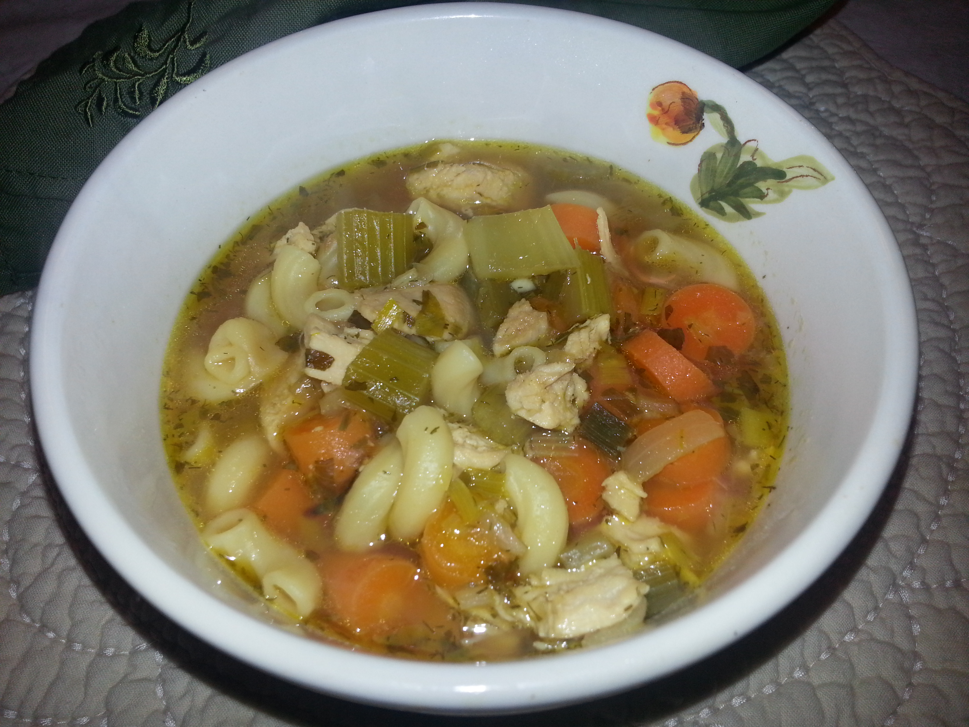 Classic Chicken SoupThe Rustic Heart