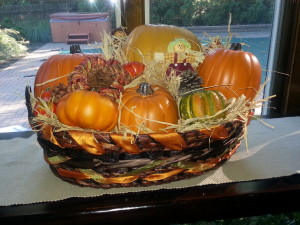 Fall Big basket
