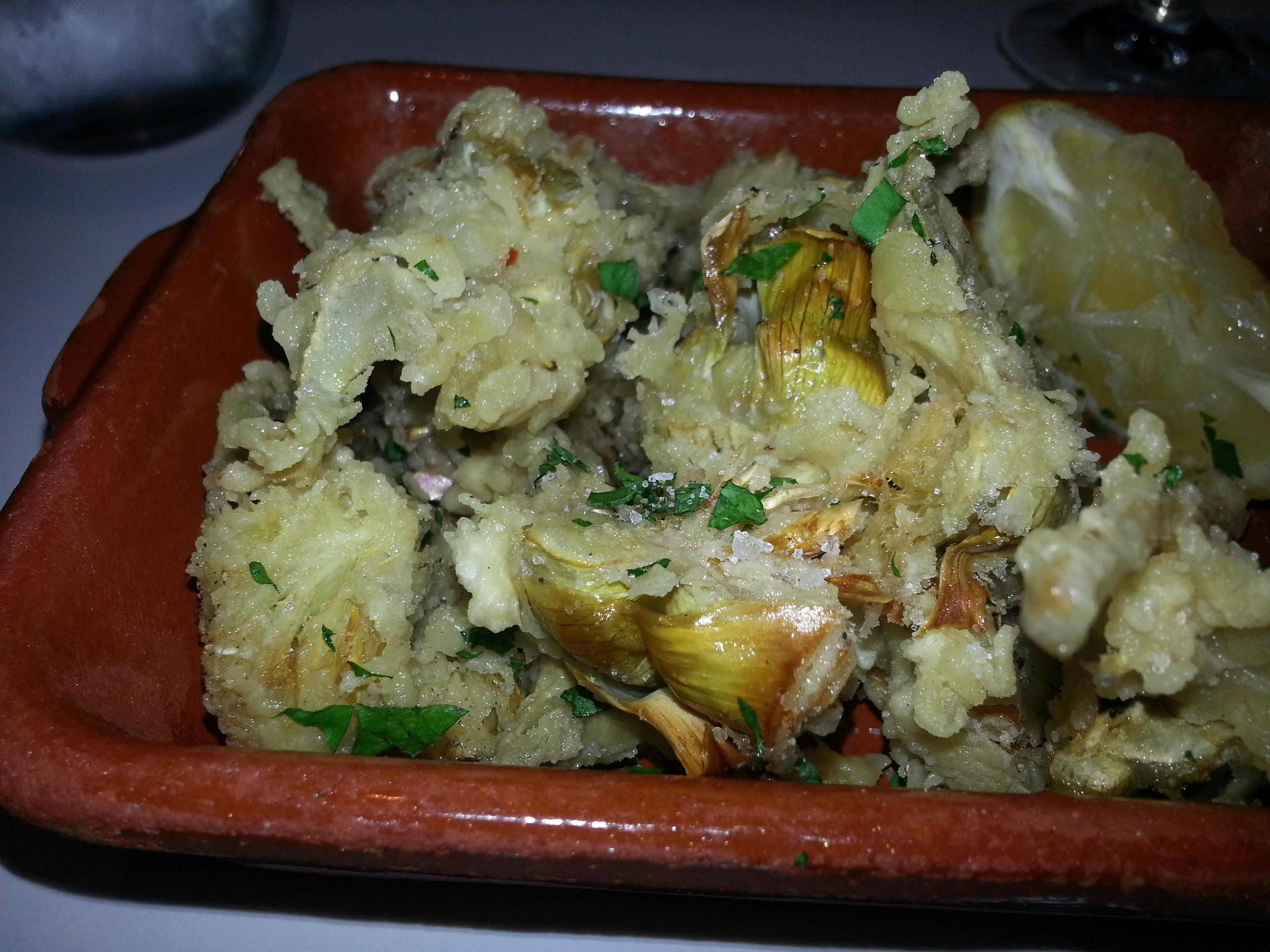 Montreal Food Artichoke Hearts