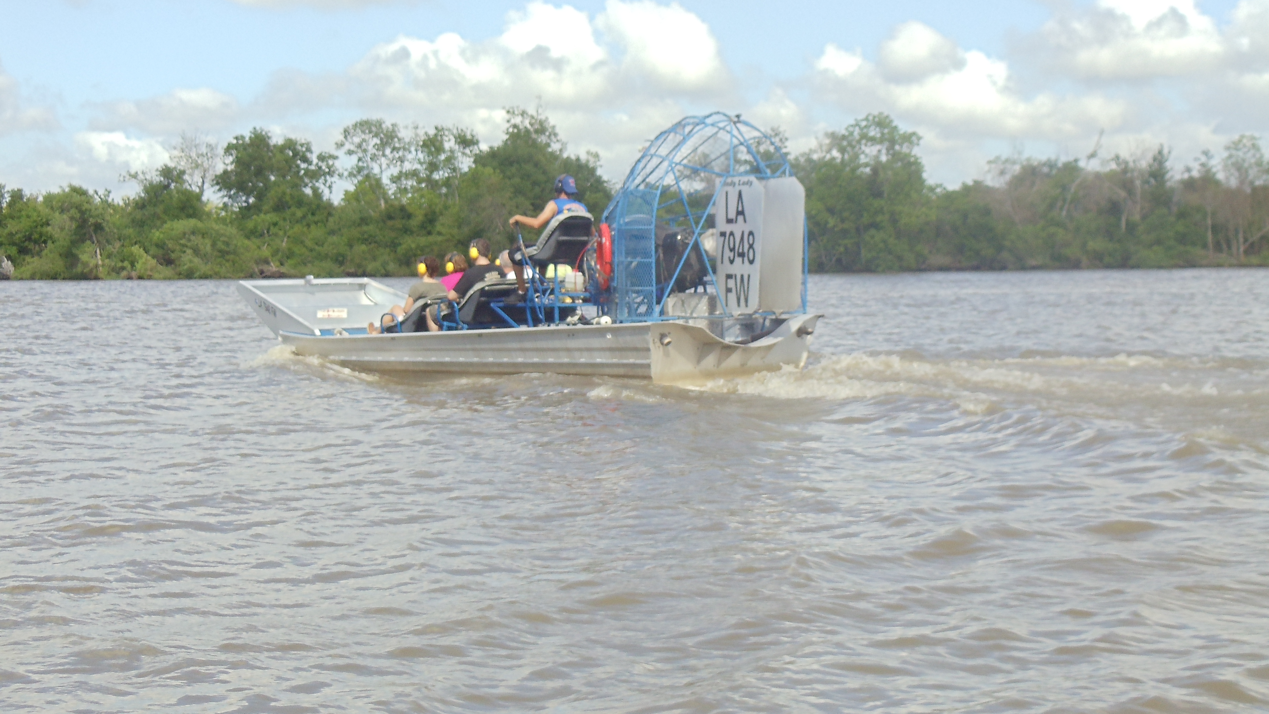 New Orleans Fan Boat