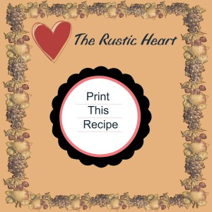 Print Recipe-001