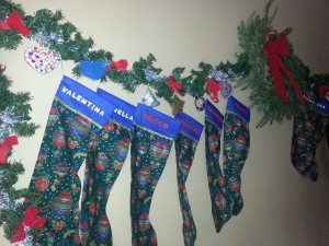 Christmas Stockings Left