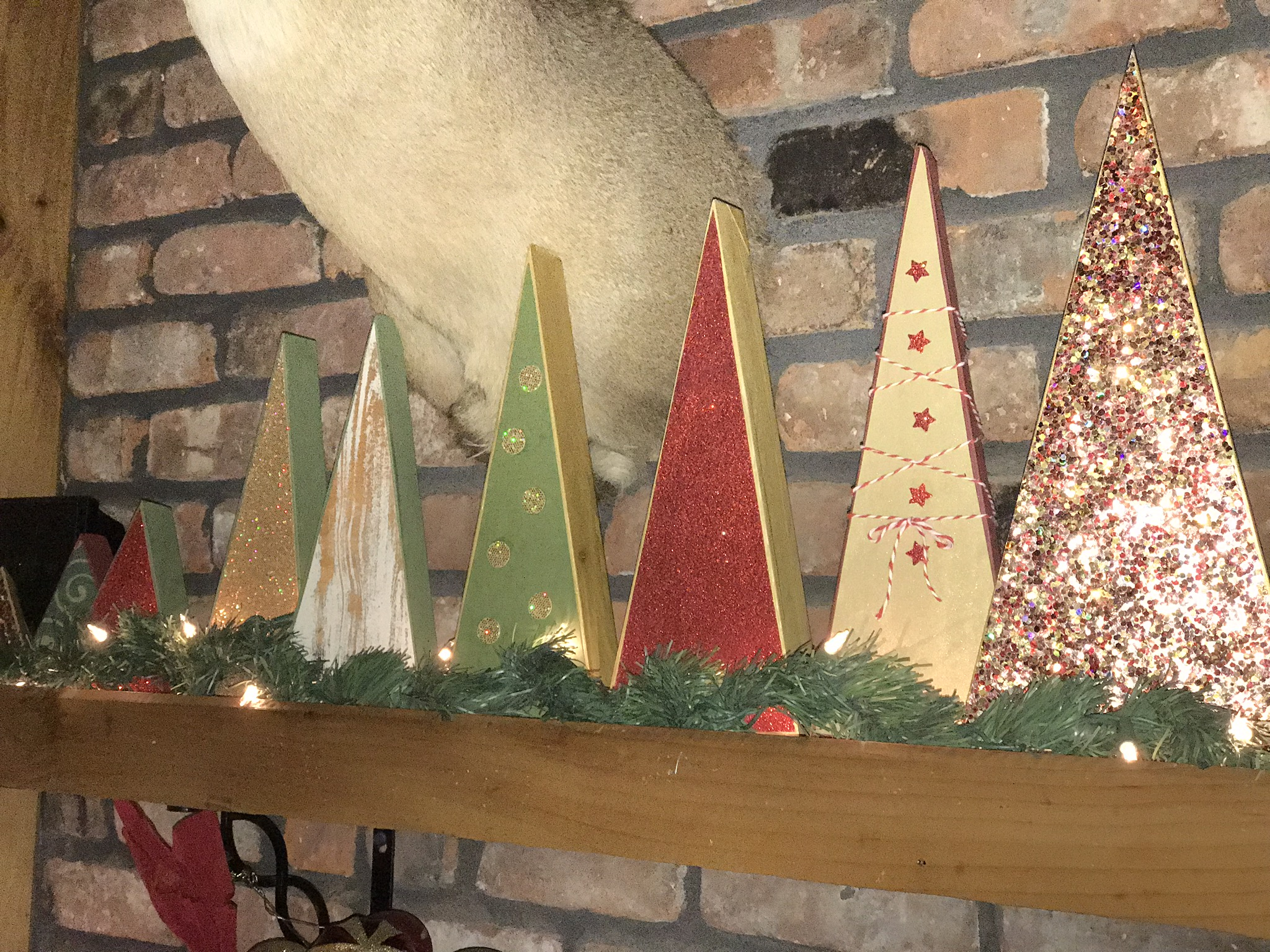 wood christmas trees the rustic heart - Rustic Wood Christmas Tree