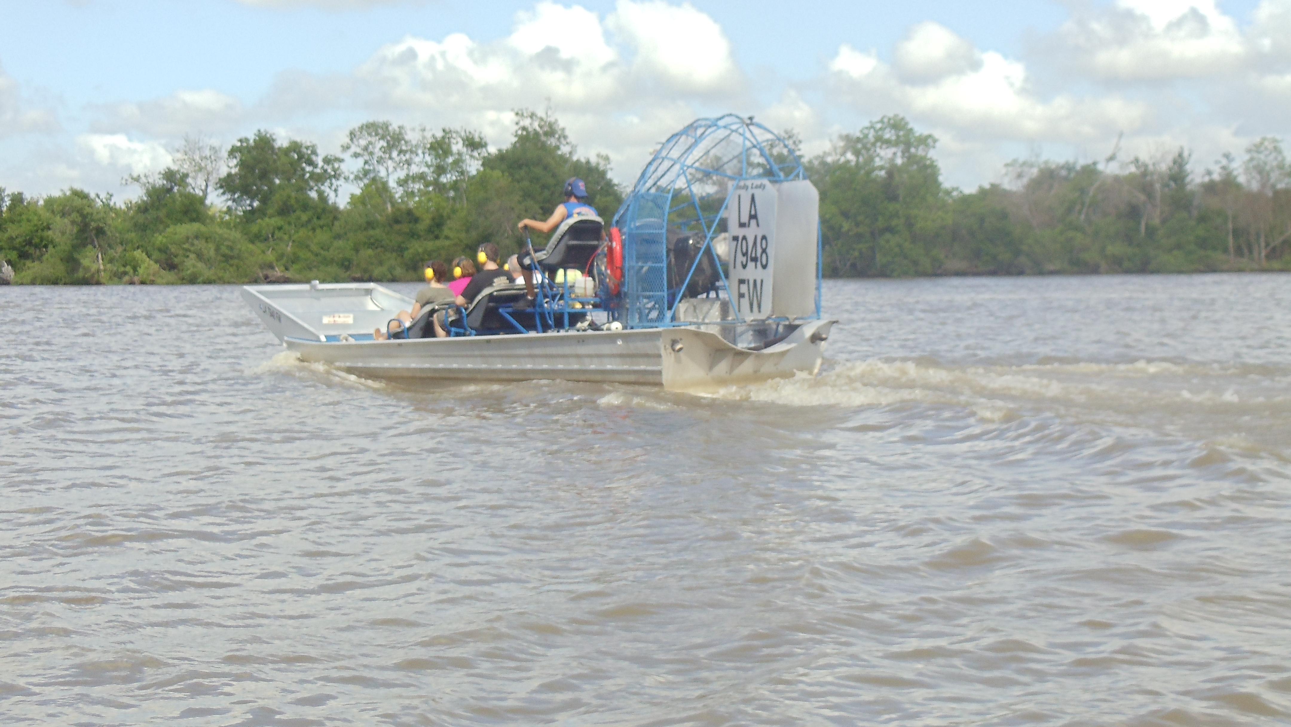 New Orleans Fan Boat